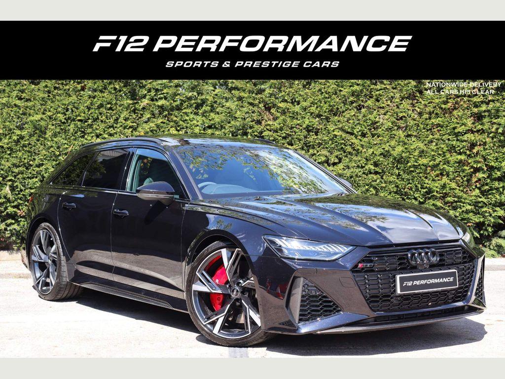 Audi RS6 Avant Estate 4.0 TFSI V8 Carbon Black Avant Tiptronic quattro (s/s) 5dr