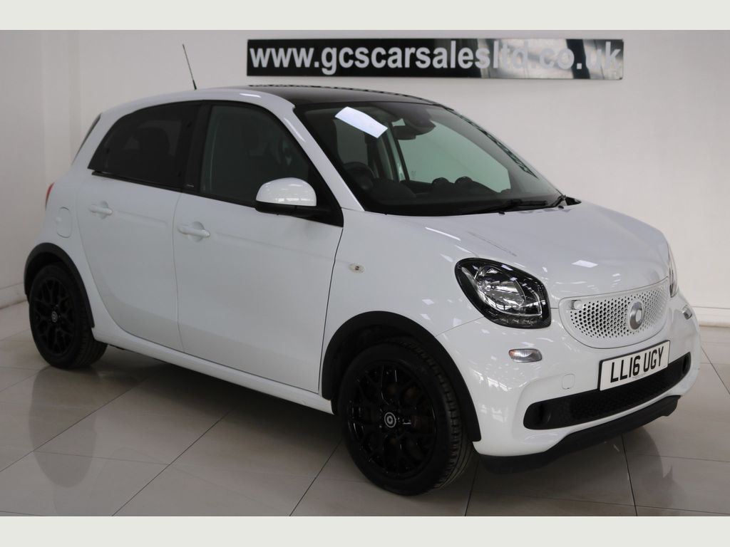 Smart forfour Hatchback 0.9T Edition White Twinamic (s/s) 5dr
