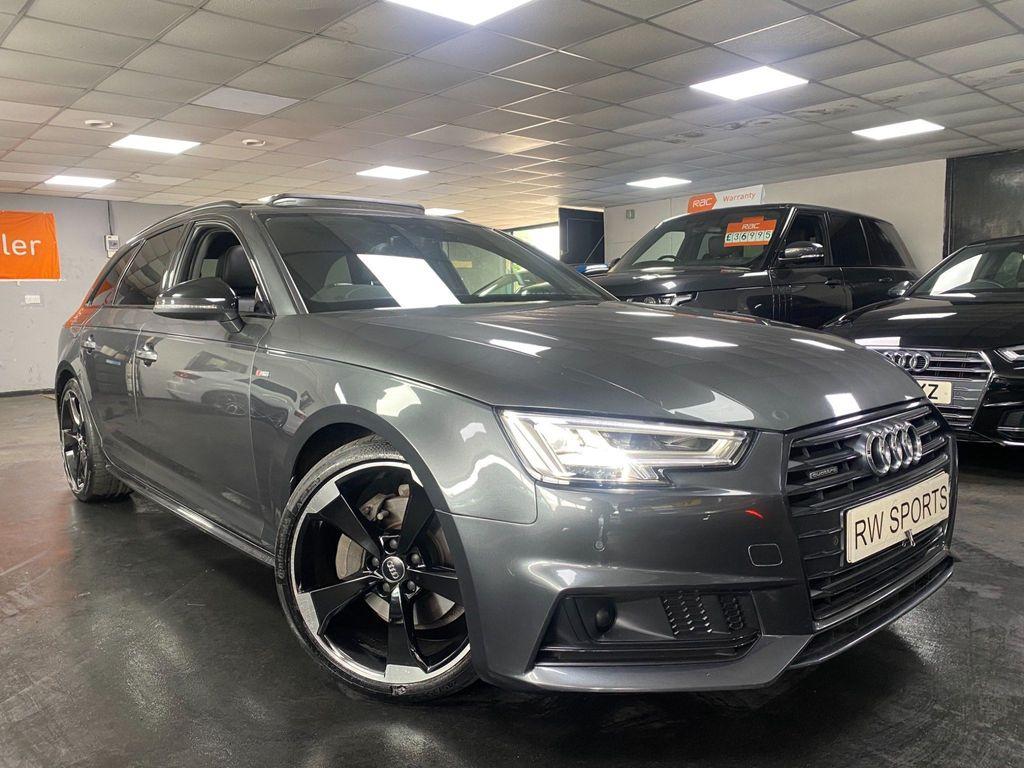 Audi A4 Avant Estate 2.0 TDI Black Edition Avant S Tronic quattro (s/s) 5dr