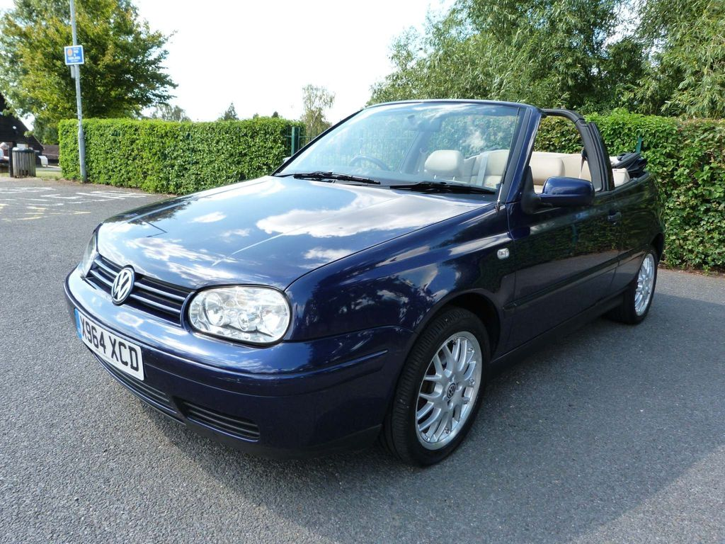 Volkswagen Golf Convertible 2.0 Avantgarde 2dr