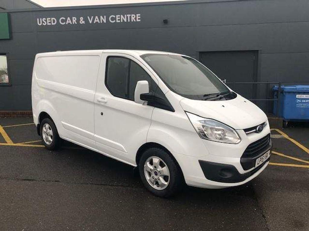 Ford Transit Custom Panel Van NO VAT+TAILGATE+LIMITED L1 H1 125 PS