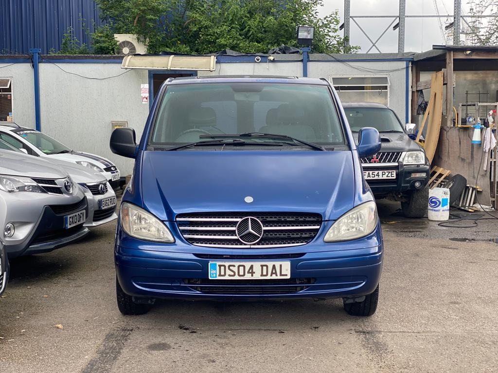 Mercedes-Benz Vito Panel Van 2.1 115CDI Dualiner Basic High Roof Long Panel Van LWB 5dr