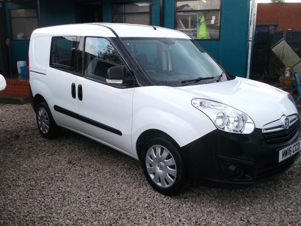 Vauxhall Combo Other 1.3 CDTi 2300 16v (Glazed) Crew Van L1 H1 5dr (5 seat)