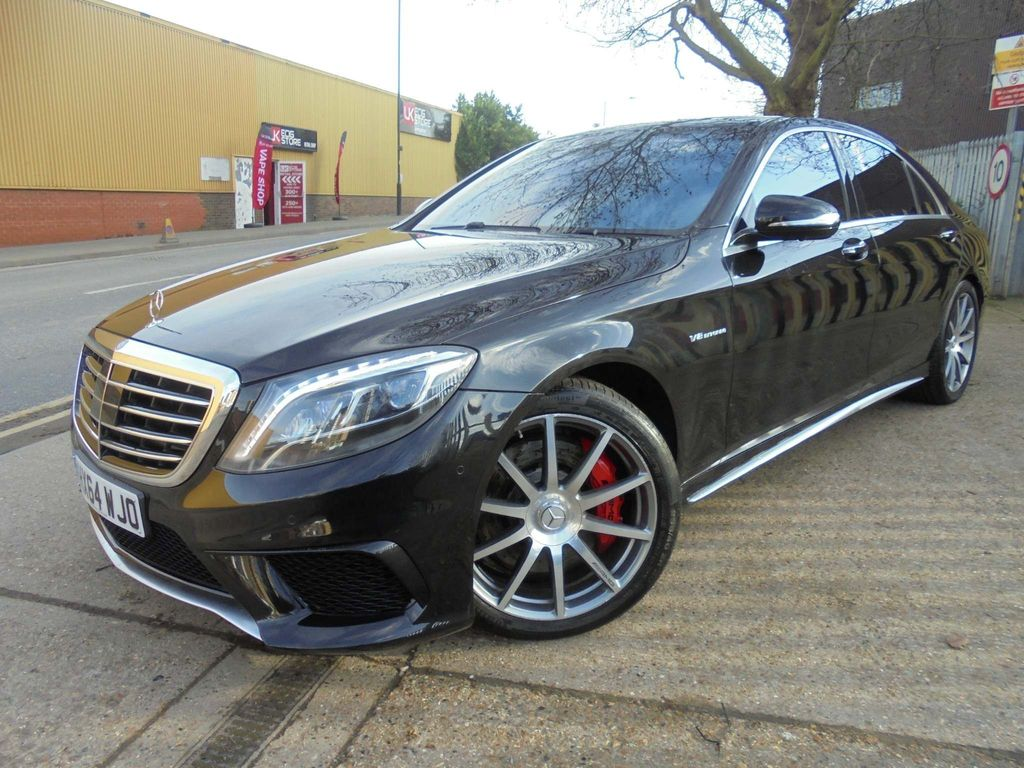Mercedes-Benz S Class Saloon 5.5 S63 AMG L (Executive) MCT (s/s) 4dr