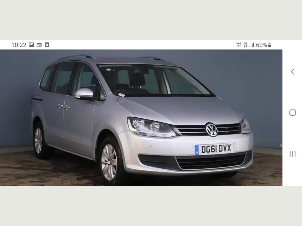 Volkswagen Sharan MPV 2.0 TDI SE 5dr