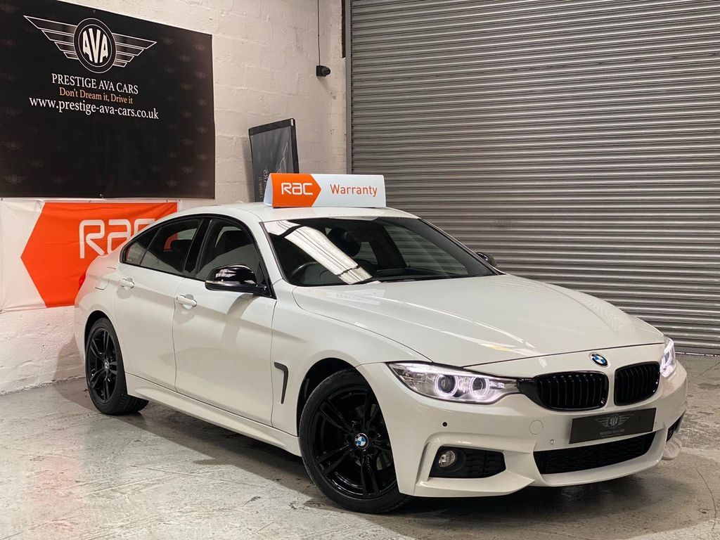 BMW 4 Series Gran Coupe Saloon 2.0 418d M Sport Gran Coupe (s/s) 5dr