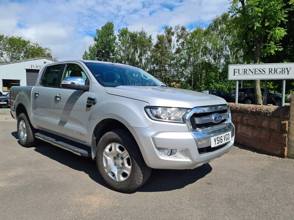 Ford Ranger Pickup 3.2 TDCi Limited 1 Double Cab Pickup Auto 4WD 4dr