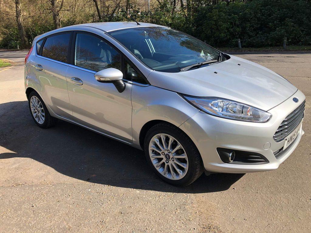 Ford Fiesta Hatchback 1.0 EcoBoost Titanium X (s/s) 5dr (EU6)
