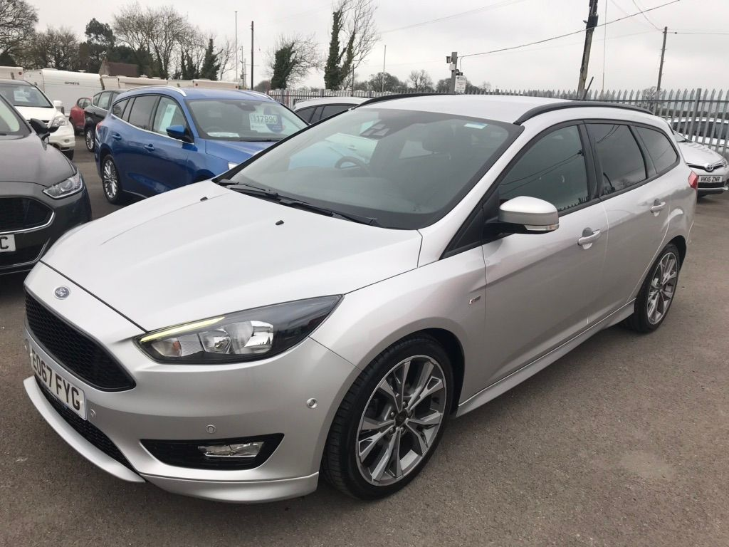 Ford Focus Estate 1.5 TDCi EcoBoost ST-Line Powershift (s/s) 5dr