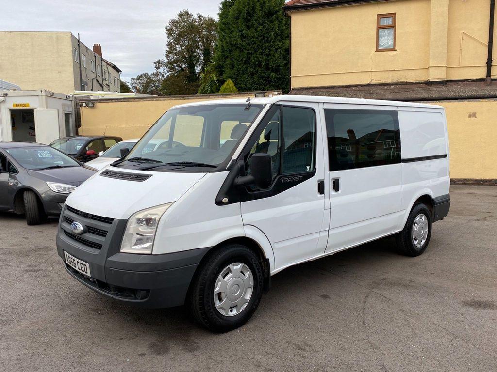 Ford Transit Combi Van 2.2 TDCI 110 T300 CREW VAN MWB LOW ROOF