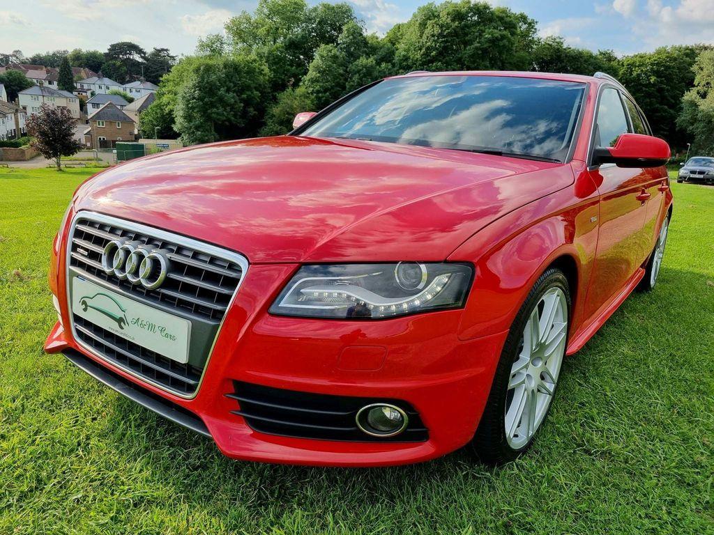 Audi A4 Avant Estate 2.0 TFSI S line Avant S Tronic quattro 5dr
