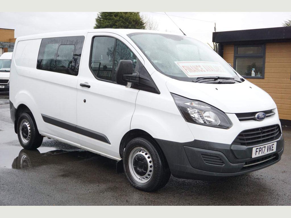 Ford Transit Custom Panel Van 2.0 TDCi 290 6 Seater Combi Van LWB EU 6