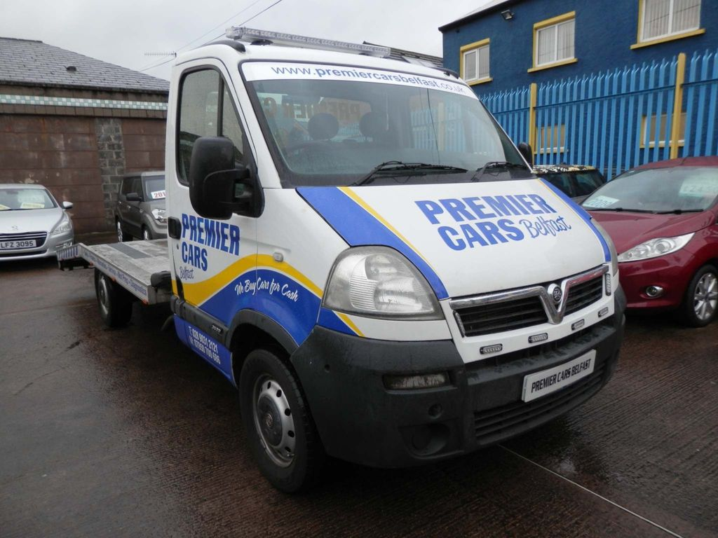 Vauxhall Movano Luton RECOVERY VEHICLE