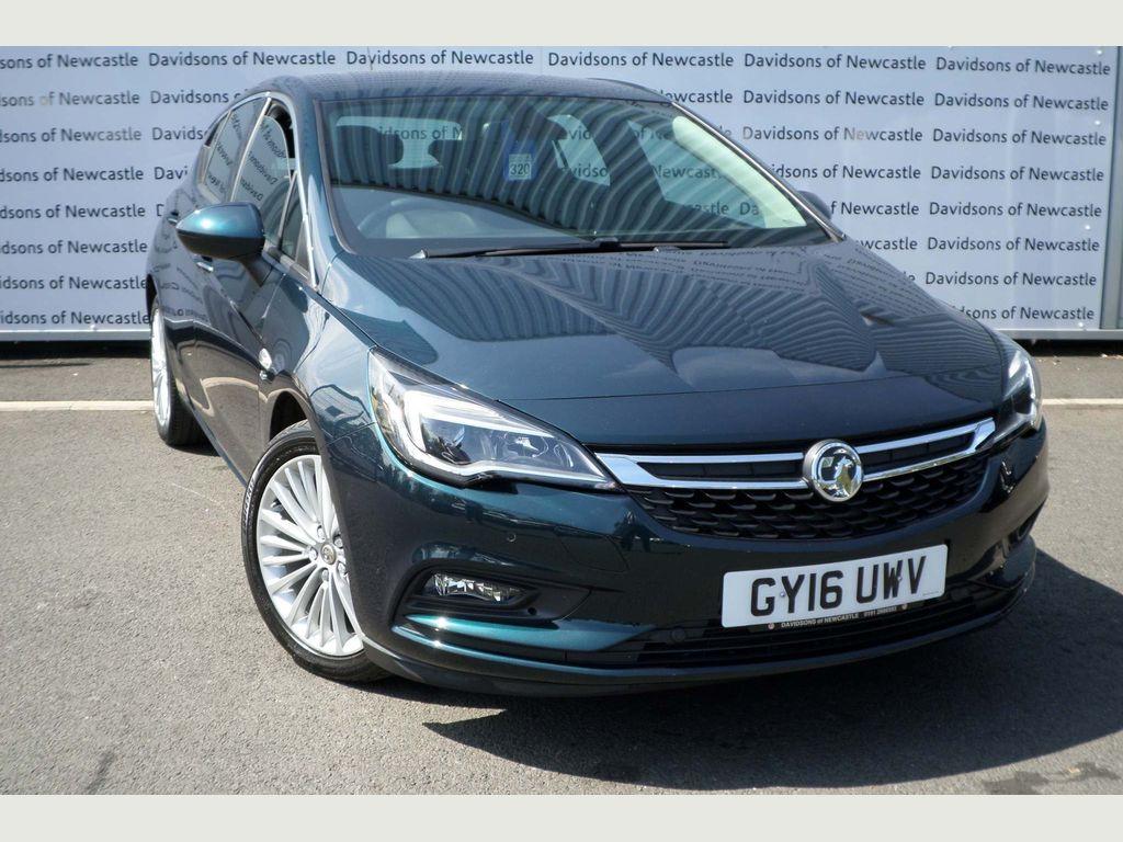 Vauxhall Astra Hatchback 1.6 CDTi BlueInjection Elite (s/s) 5dr