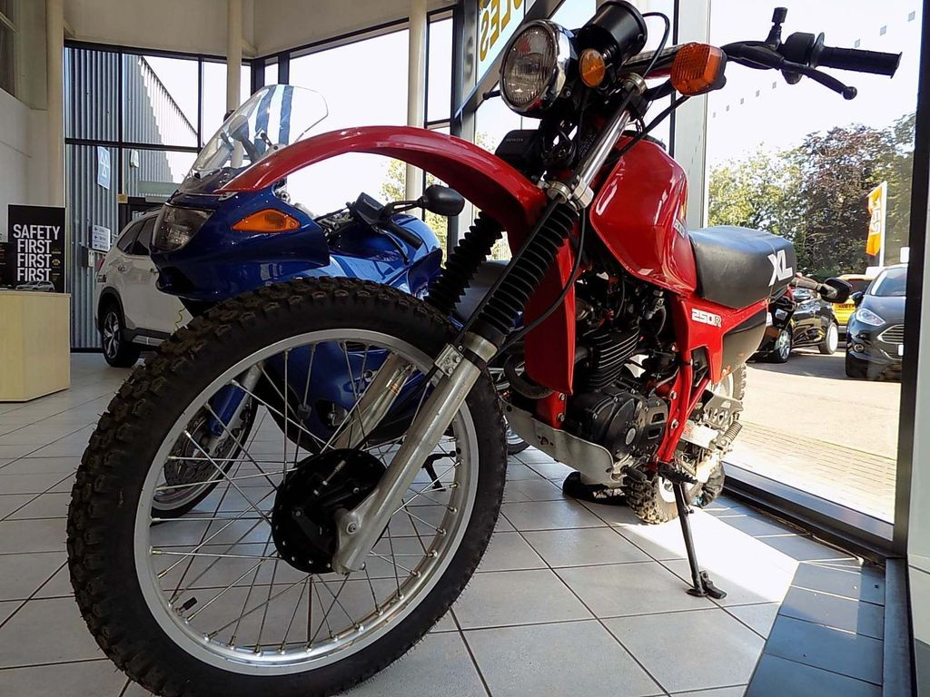 Honda XL250 Trail Bike