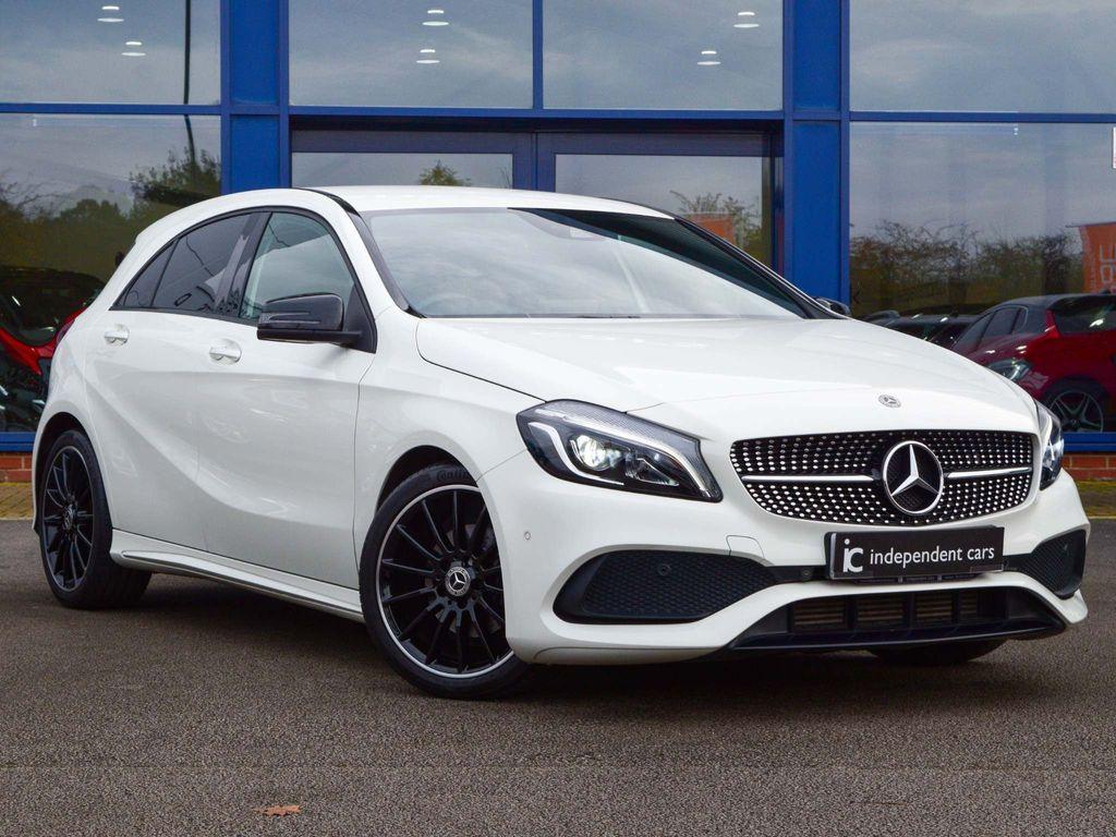 Mercedes-Benz A Class Hatchback 1.6 A180 AMG Line (Premium) 7G-DCT (s/s) 5dr