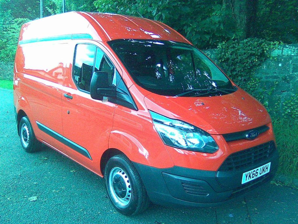 Ford Transit Custom Panel Van 2.0 TDCi 270 L1 H2 5dr