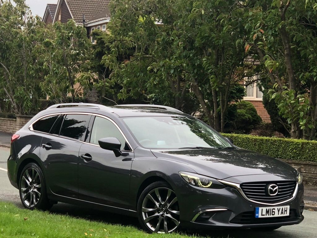 Mazda Mazda6 Estate 2.0 SKYACTIV-G Sport Nav Tourer 5dr