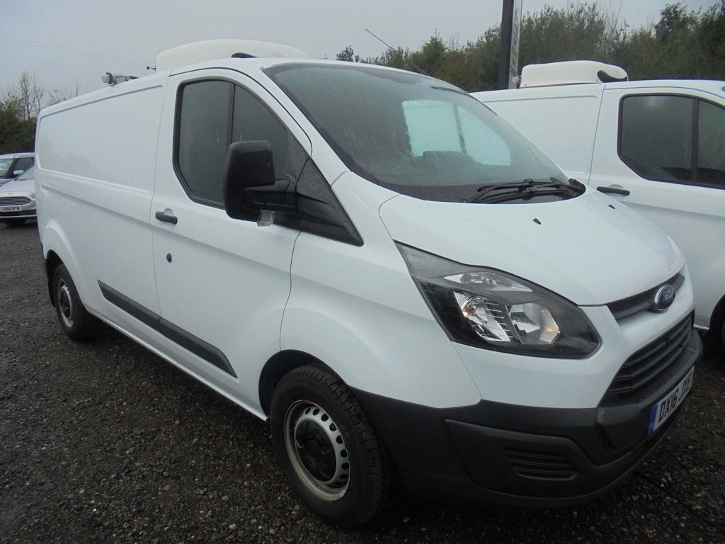 Ford Transit Custom Temperature Controlled REFRIGERATED VAN WITH OVER NIGHT HOOK UP