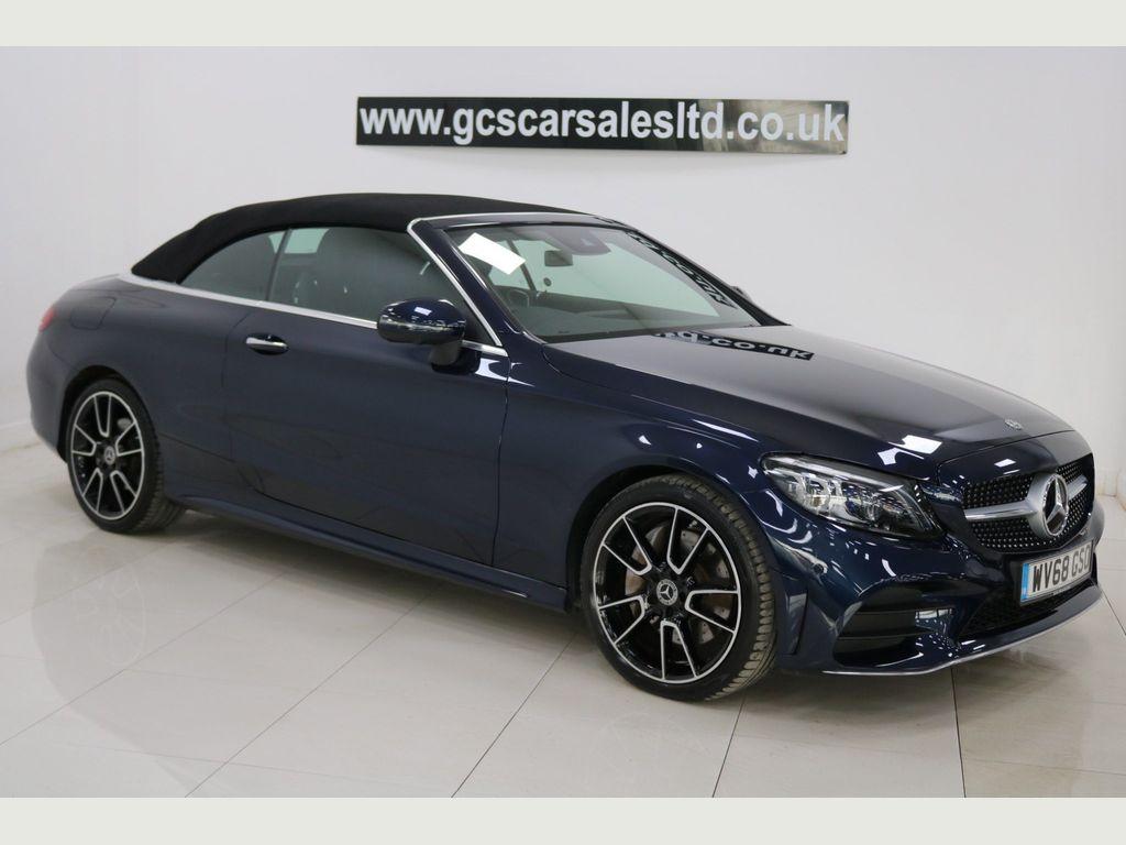Mercedes-Benz C Class Convertible 2.0 C300 AMG Line (Premium Plus) Cabriolet G-Tronic+ (s/s) 2dr