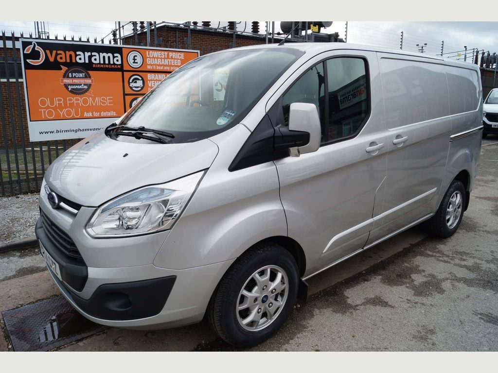 FORD TRANSIT CUSTOM Panel Van 2.2 TDCi 270 L1H1 Limited Panel Van 5dr