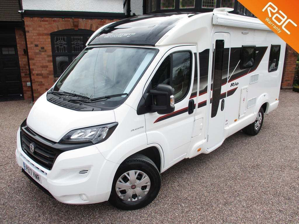 Swift Rio 340 Van Conversion SWIFT RIO 340 4 BERTH ELECTRIC DROP DOWN BED
