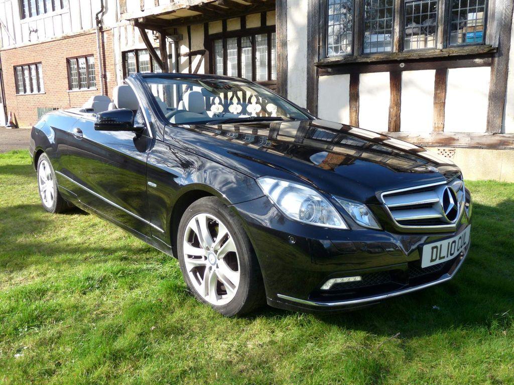 Mercedes-Benz E Class Convertible 3.0 E350 CDI SE Cabriolet Auto 2dr