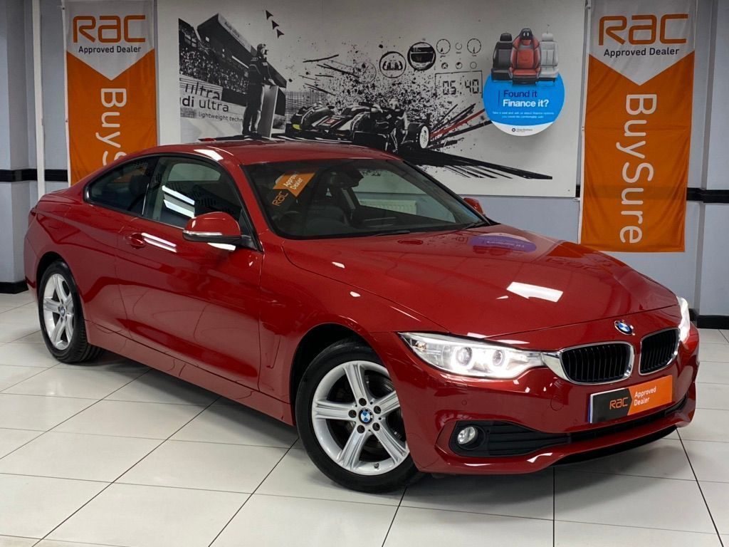 BMW 4 Series Coupe 2.0 420d SE xDrive 2dr