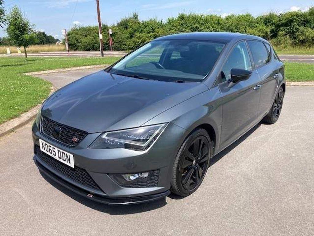 SEAT Leon Hatchback 1.4 TSI FR Black Technology (s/s) 5dr