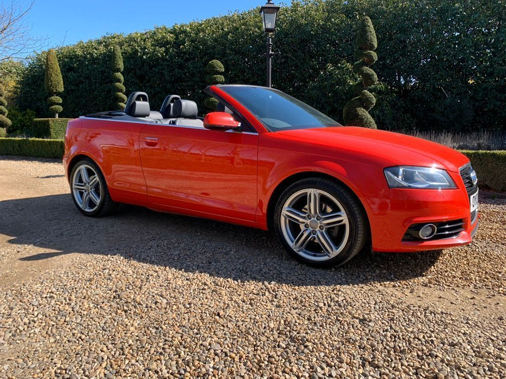 Audi A3 Cabriolet Convertible 2.0 TDI S line Final Edition Cabriolet 2dr