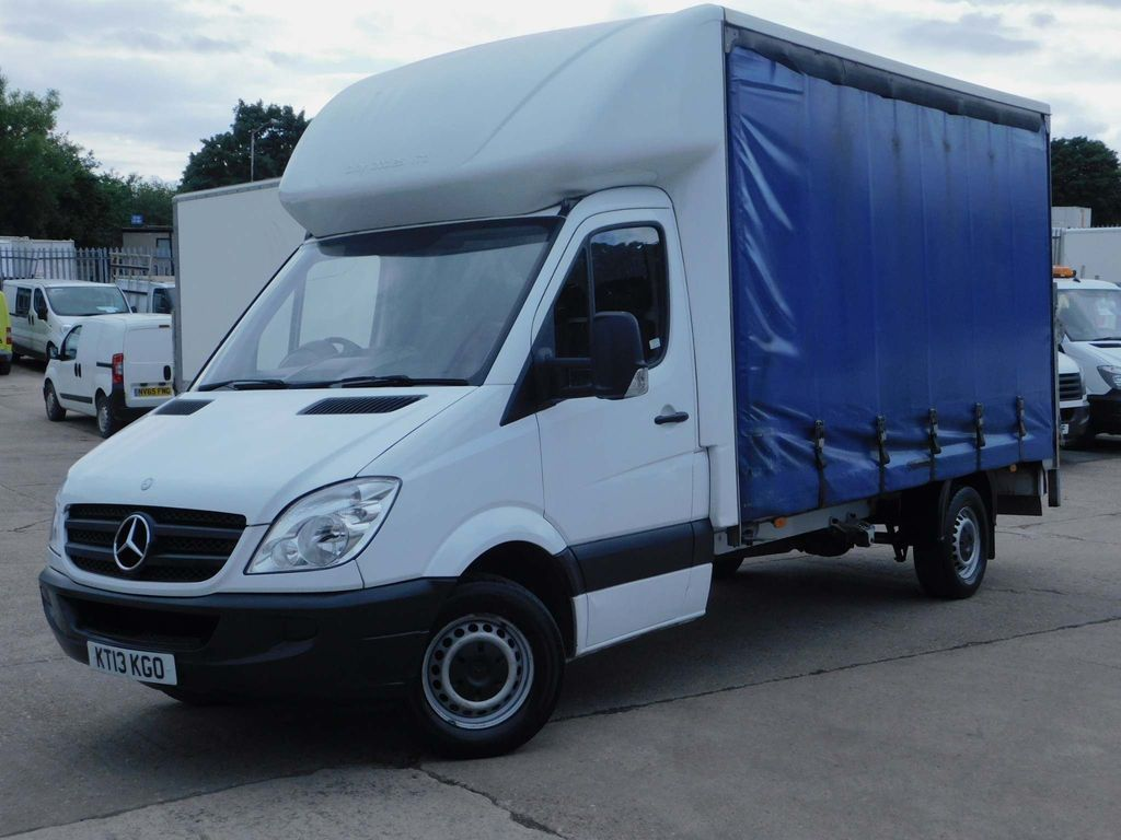 Mercedes-Benz Sprinter Curtain Side SOLD SOLD SOLD