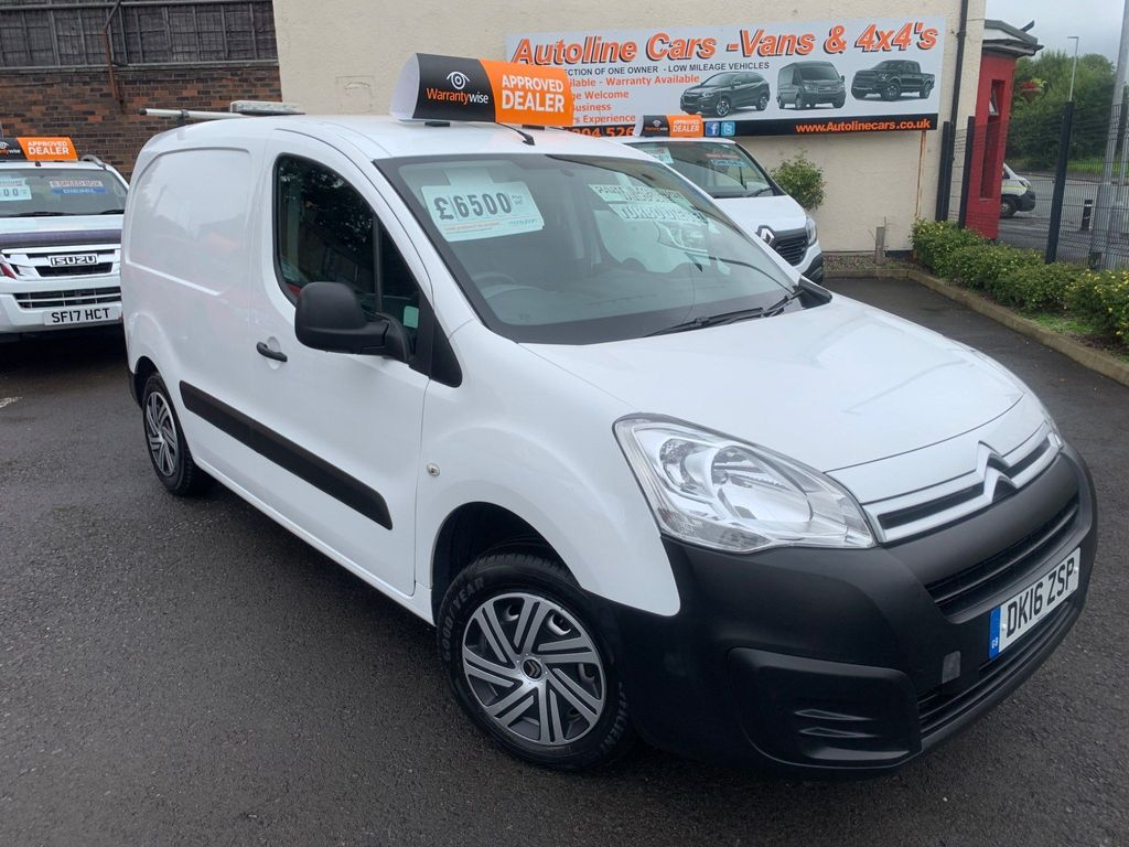 Citroen Berlingo Panel Van 1.6 BlueHDi 625 LX L1 (s/s) 5dr