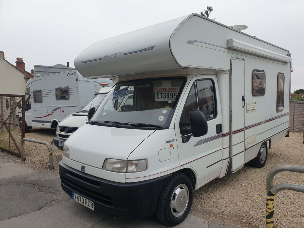 Swift Sorry now sold Coach Built Fiat ducato 2.8td