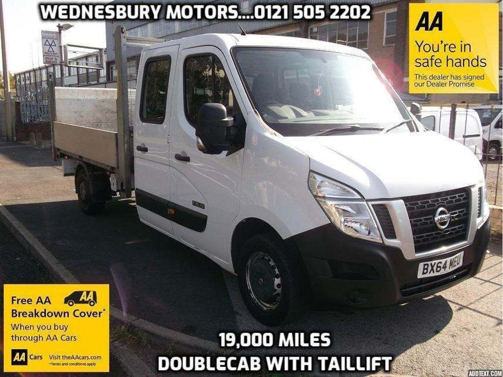 Nissan NV400 Chassis Cab 2.3SE DOUBLECAB DROPSIDE WITH TAILLIFT