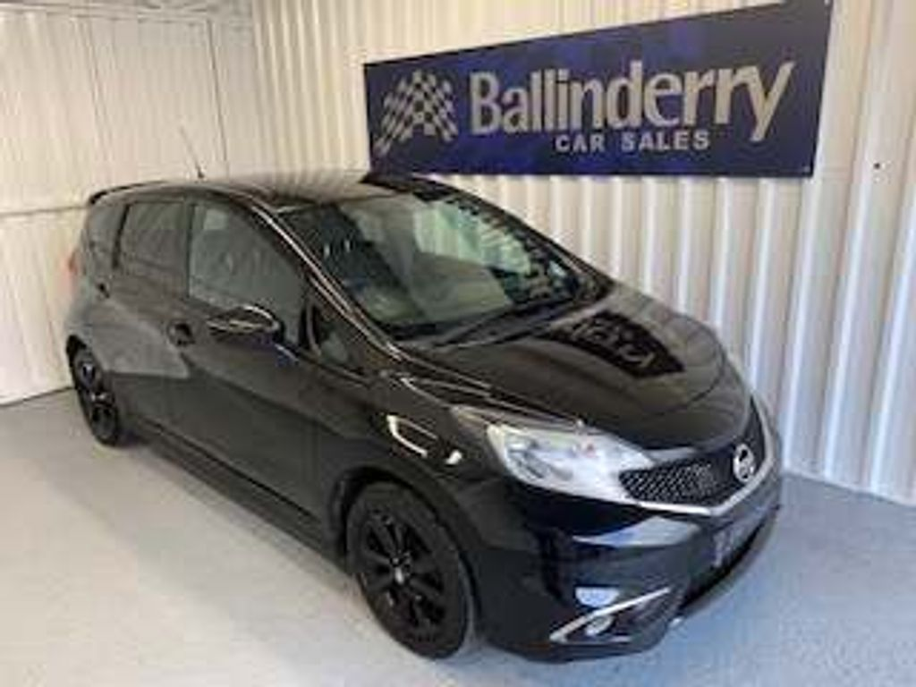 Nissan Note Hatchback 1.2 Black Edition 5dr
