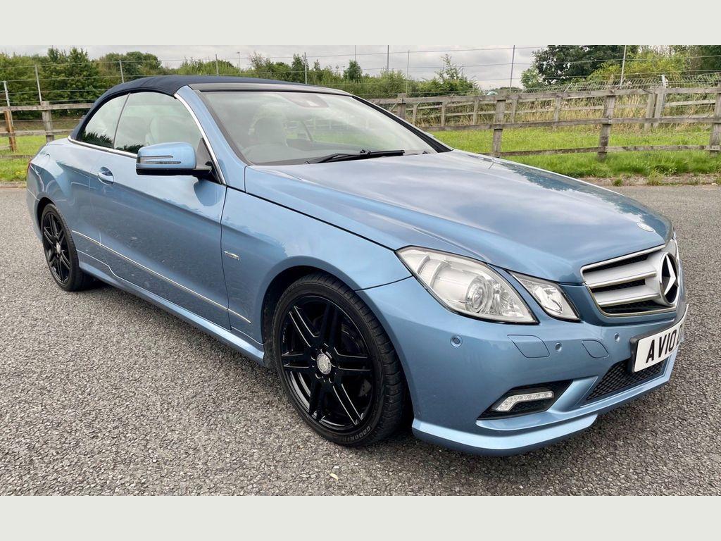 Mercedes-Benz E Class Convertible 1.8 E250 CGI BlueEFFICIENCY Sport Cabriolet 2dr