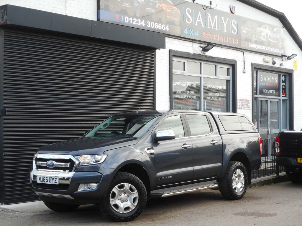 Ford Ranger Pickup 2.2 TDCi Limited 1 Double Cab Pickup 4WD (s/s) 4dr