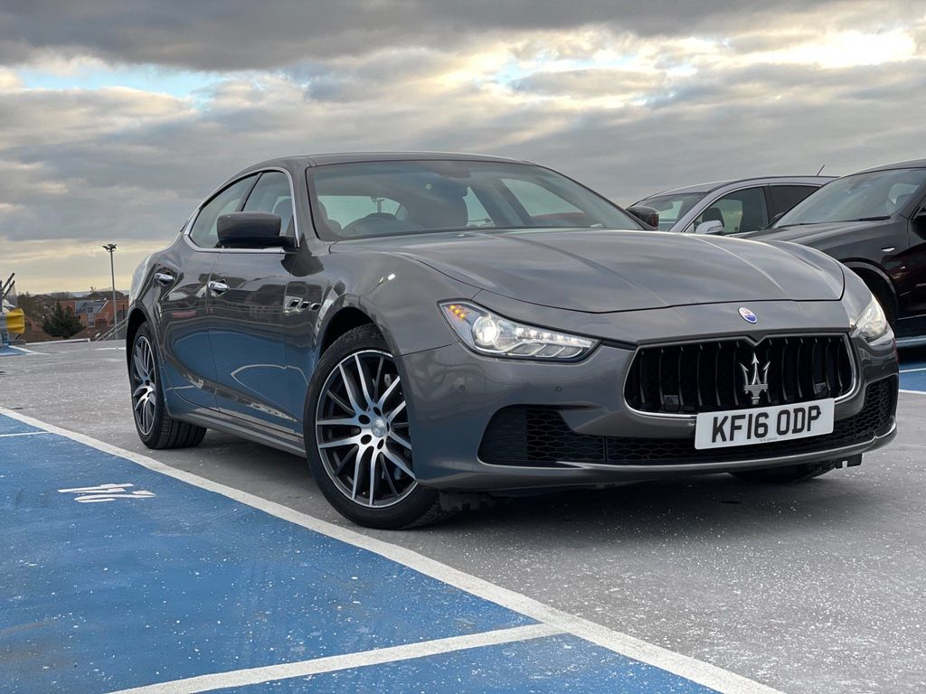 Maserati Ghibli Saloon 3.0 TD V6 (s/s) 4dr (EU6)