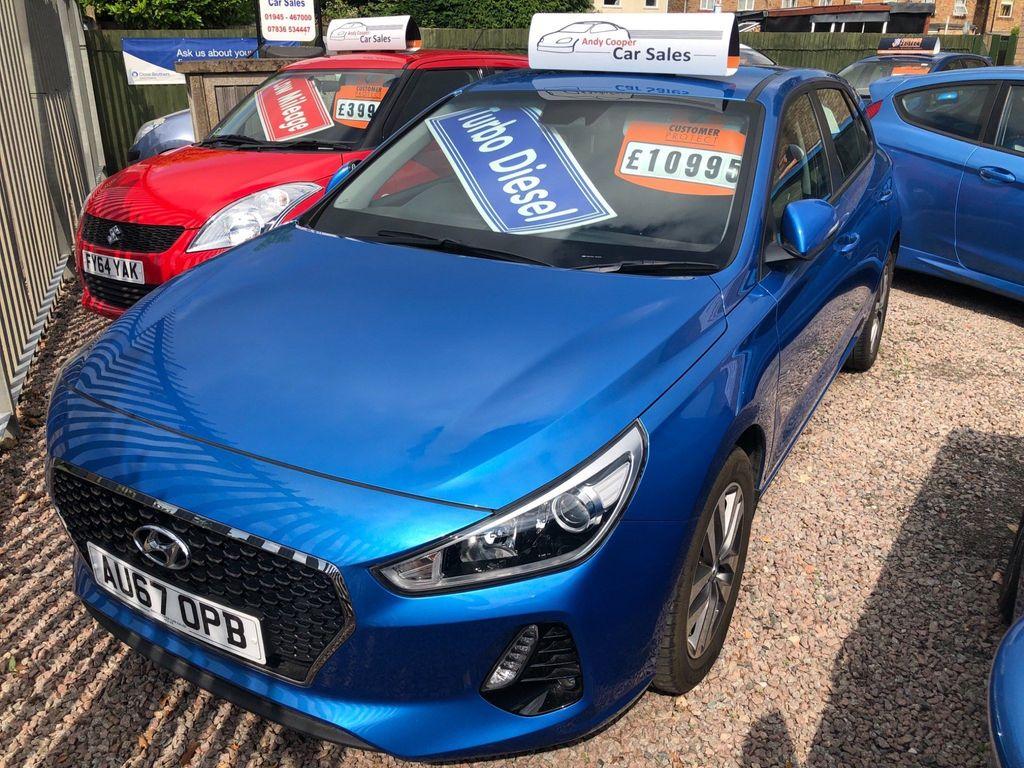 Hyundai i30 Hatchback 1.6 CRDi Blue Drive SE (s/s) 5dr