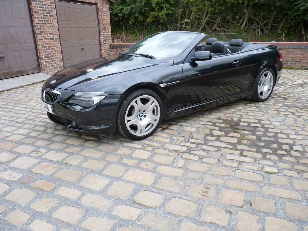 BMW 6 Series Convertible 4.4 645Ci V8 2dr