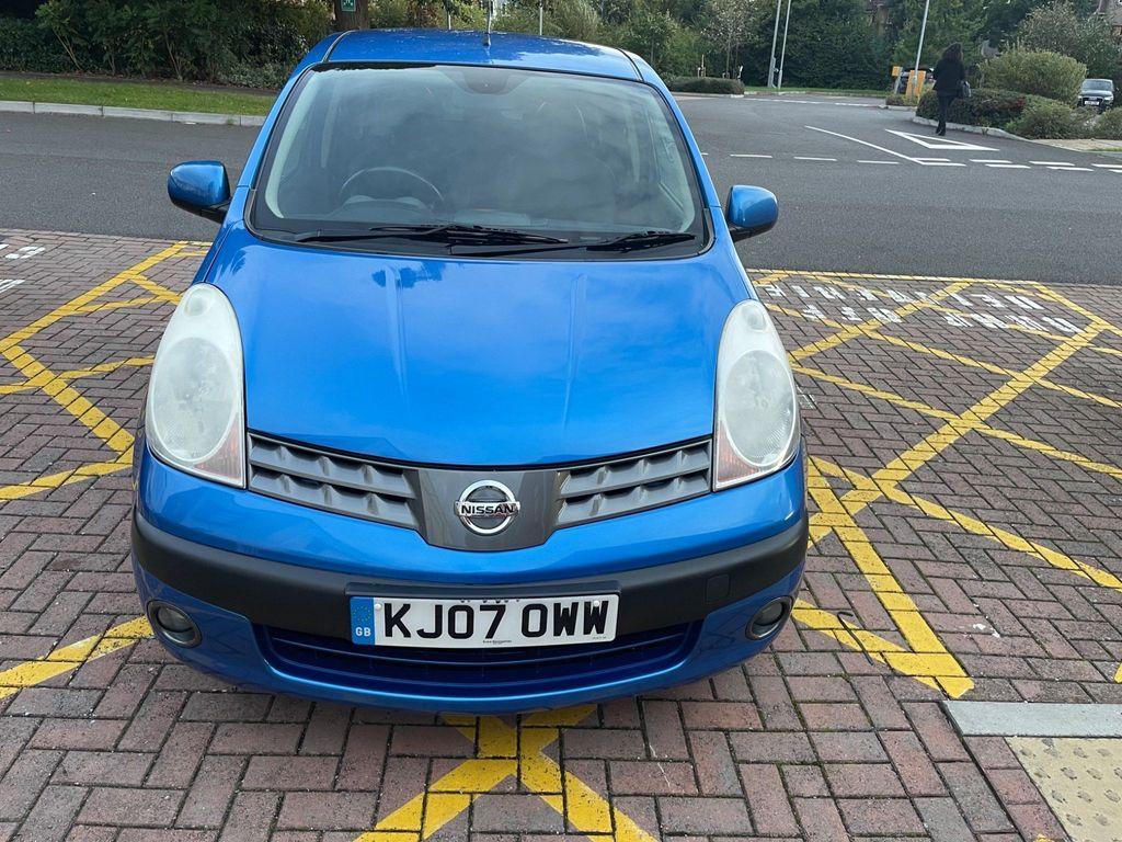 Nissan Note Hatchback 1.6 16v SVE 5dr