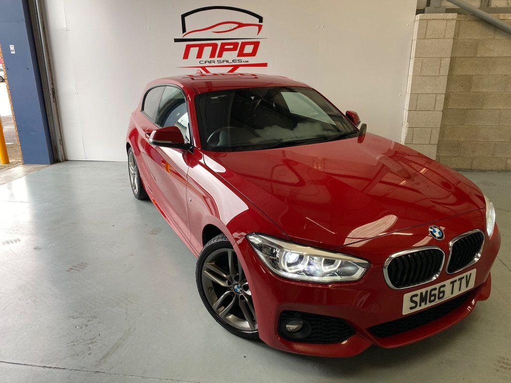Used Bmw 1 Series Hatchback 2 0 118d M Sport S S 3dr In Rotherham South Yorkshire M P D Car Sales