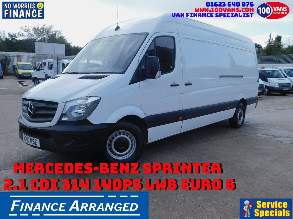 Mercedes-Benz Sprinter Panel Van 2.1 CDI 314 140PS LWB EURO 6