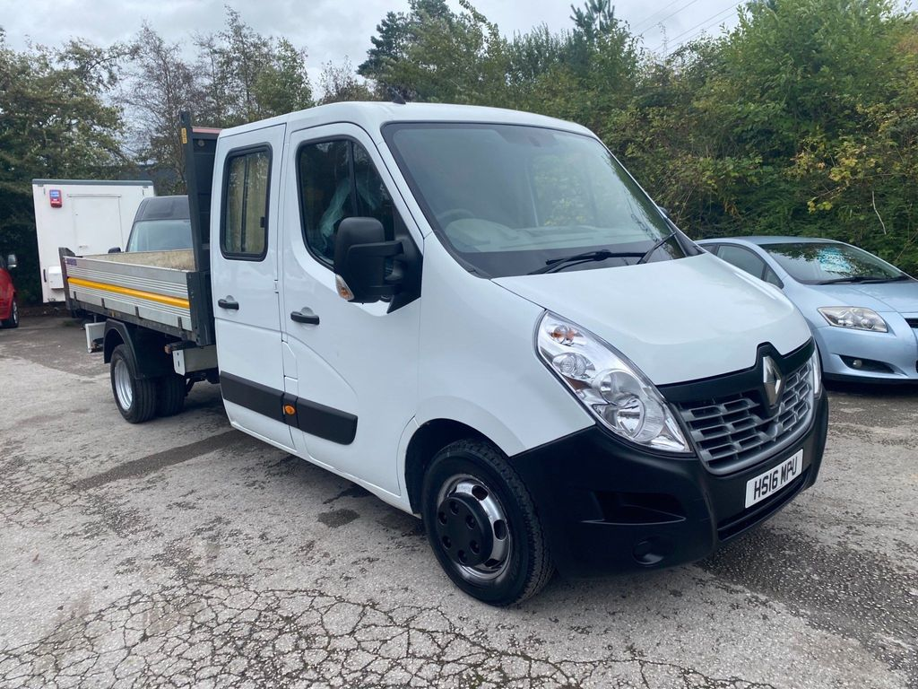 Renault Master Tipper 2.3 dCi 35 Business Double Cab Tipper RWD LWB EU5 4dr (TRW)