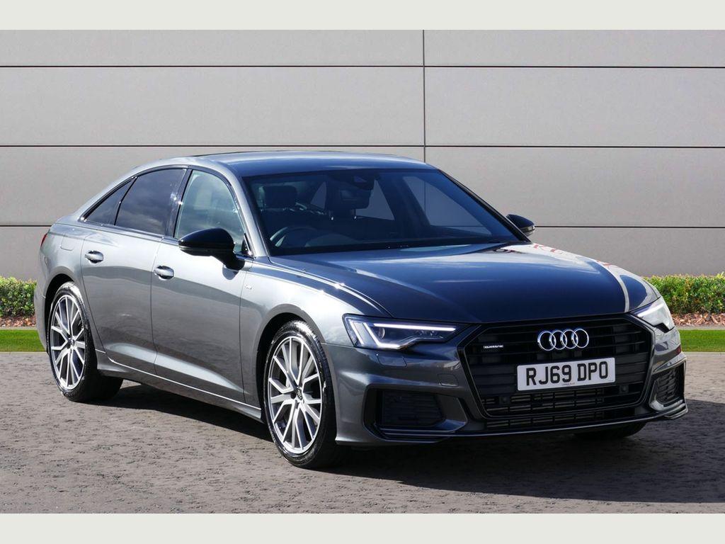 Audi A6 Saloon Saloon 2.0 TFSI 45 Black Edition S Tronic quattro (s/s) 4dr