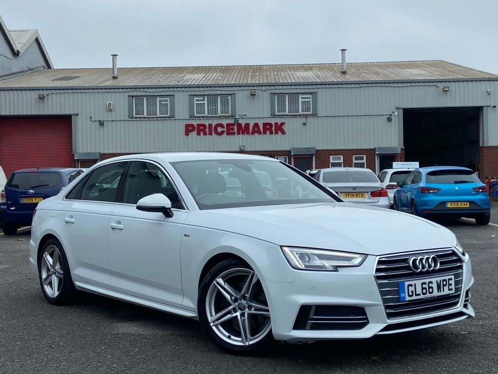 Audi A4 Saloon 2.0 TDI S line S Tronic (s/s) 4dr