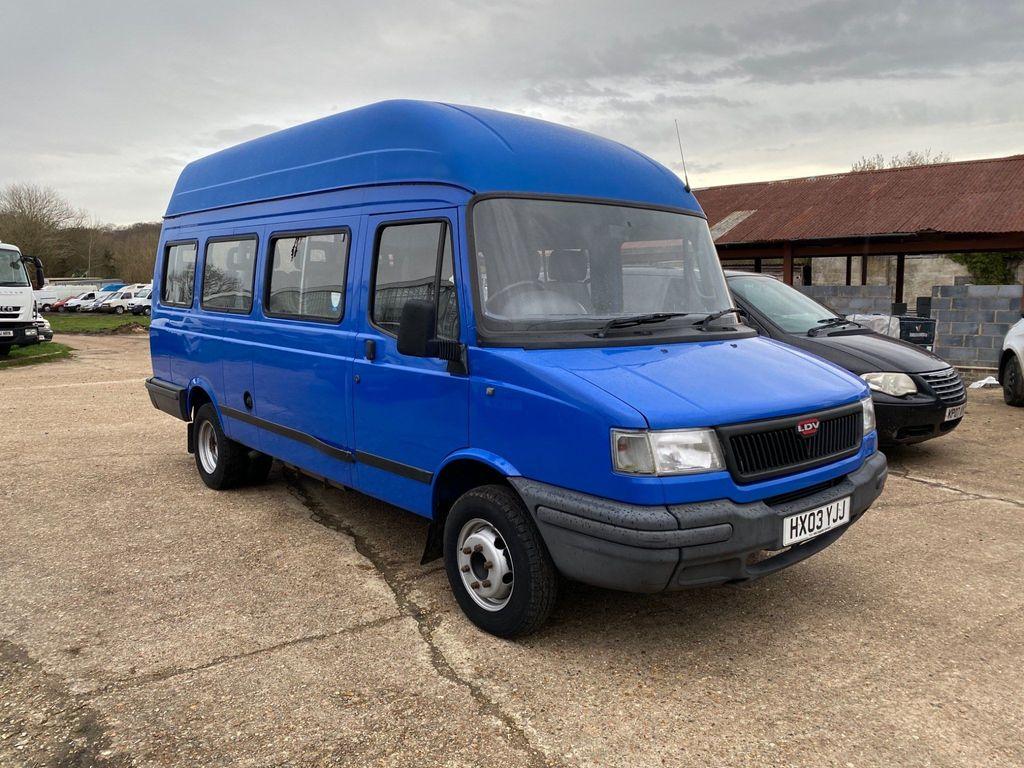 LDV Convoy Unlisted Minibus 2.4d 100bhp
