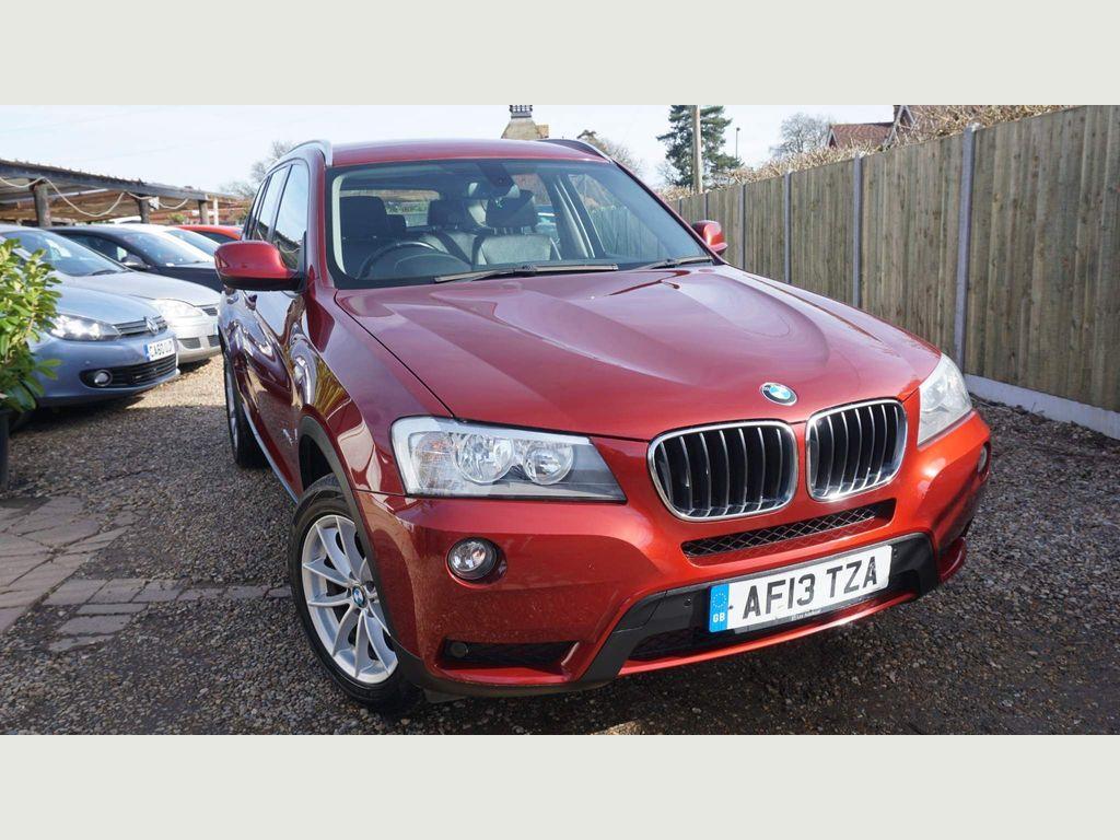 BMW X3 SUV 2.0 18d SE sDrive 5dr