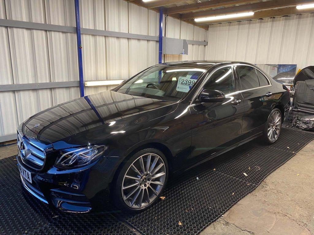 Mercedes-Benz E Class Saloon 2.0 E220d AMG Line (Premium) G-Tronic+ 4MATIC (s/s) 4dr
