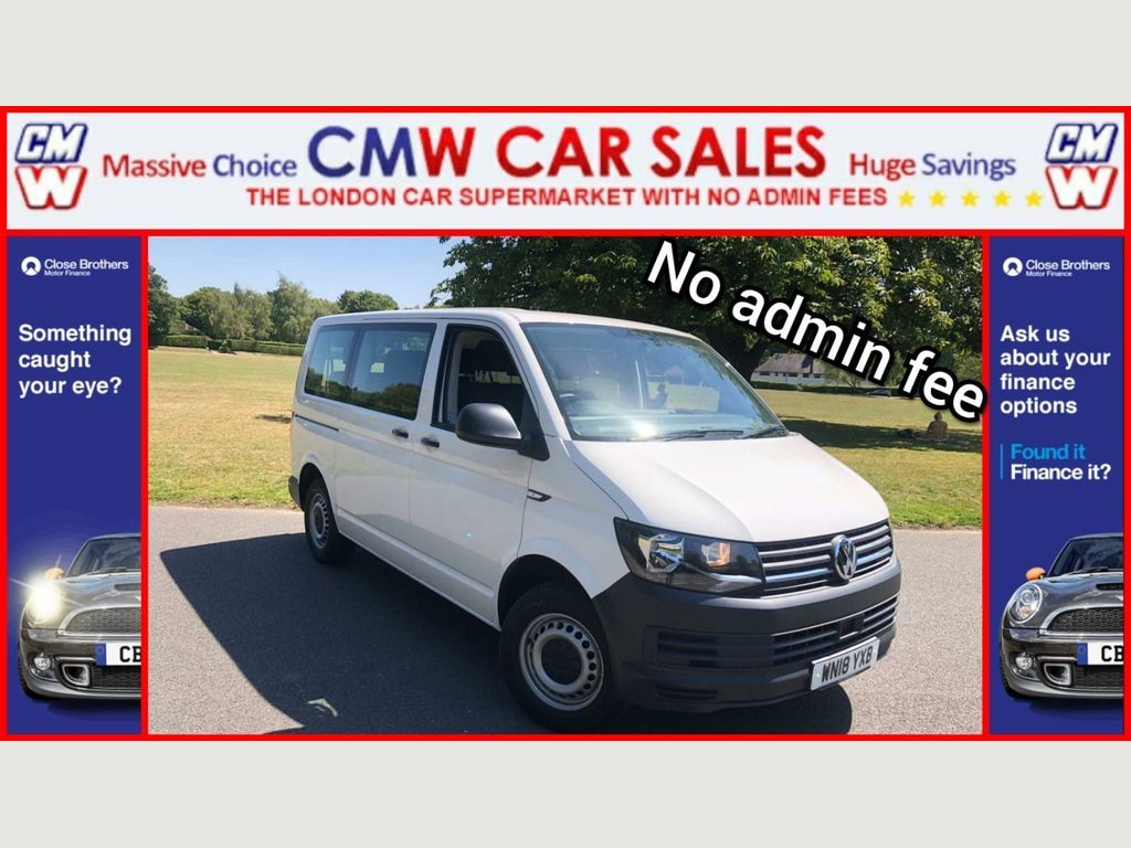 Volkswagen Transporter Shuttle Other 2.0 TDI BlueMotion Tech S Shuttle FWD (s/s) 5dr